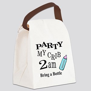 partymy crib Canvas Lunch Bag
