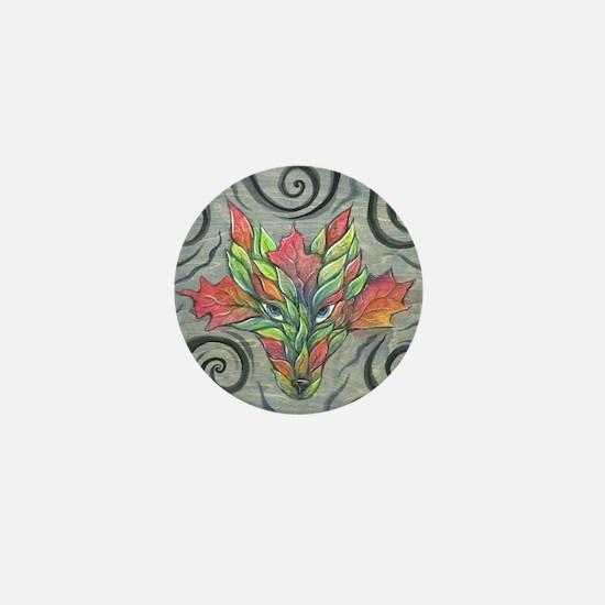 lrbgreenwolf1 Mini Button
