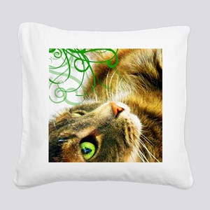 odie2_vertical Square Canvas Pillow