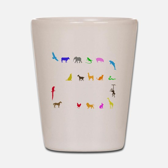 vet thing ongoing 3 trans color Shot Glass