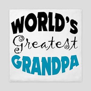 Worlds Greatest Grandpa,white shirts Queen Duvet