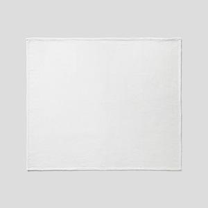12x12_white Throw Blanket