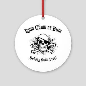 rum-chum-bum-LTT Round Ornament