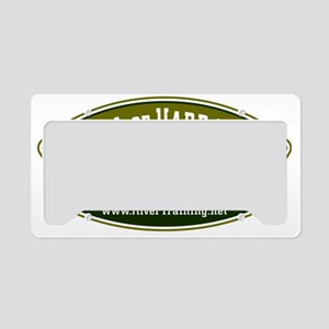 CAFE057SchoolOfHardRocks2 License Plate Holder