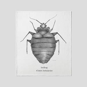 Bedbug-Corrected2 Throw Blanket