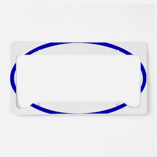 Tri_Eclipse_blue License Plate Holder