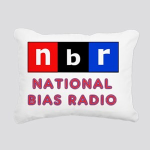 nbr not npr national bia Rectangular Canvas Pillow