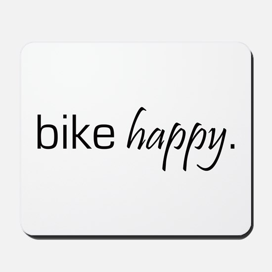 Bike Happy Mousepad