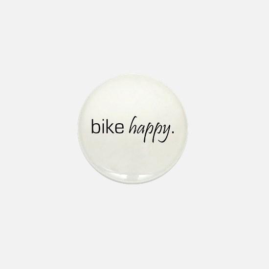 Bike Happy Mini Button