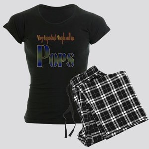 Very Important People Call M Women's Dark Pajamas