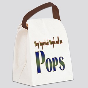 Very Important People Call Me POP Canvas Lunch Bag