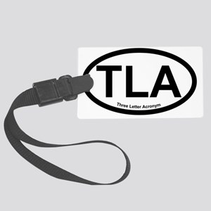 ThreeLetterAcronym Large Luggage Tag