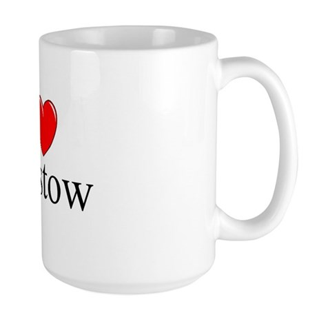 """I Love Barstow"" Large Mug"