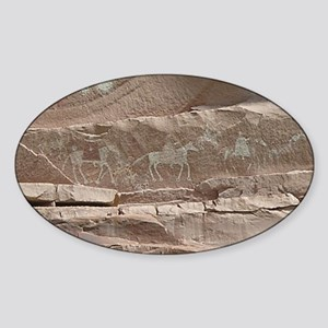 Petroglyphs_2 Sticker (Oval)