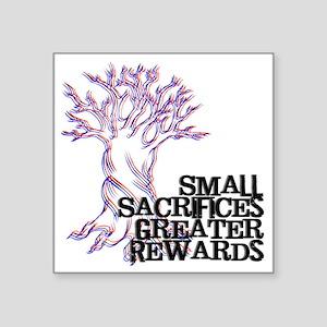 """SmallSac-logo-01 Square Sticker 3"""" x 3"""""""