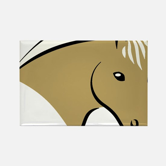horsehead3.gif Rectangle Magnet