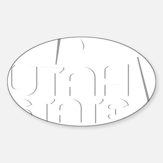 usu1 Sticker (Oval)