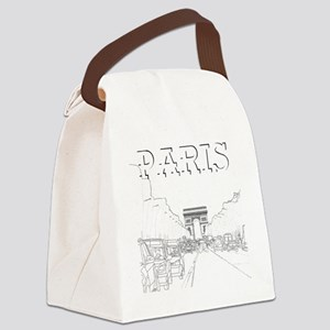Paris_10x10_apparel_ChampsElysees Canvas Lunch Bag