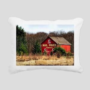 mail pouch barn (2) Rectangular Canvas Pillow