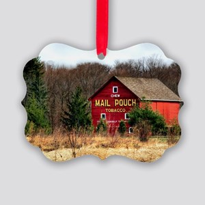 mail pouch barn (2) Picture Ornament