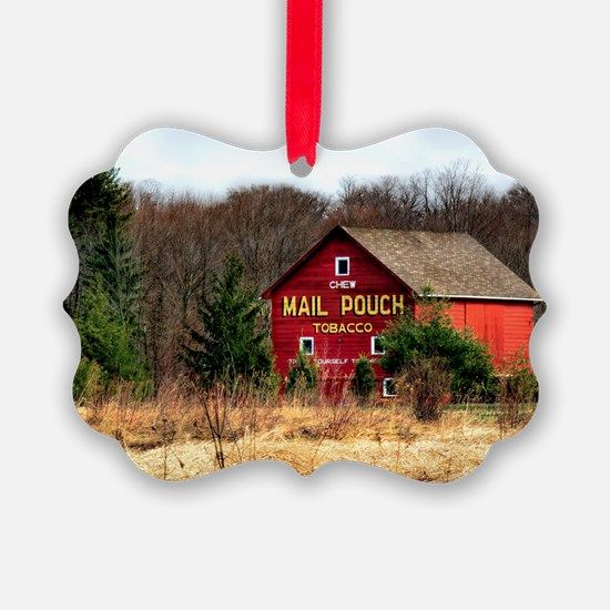 mail pouch barn (2) Ornament