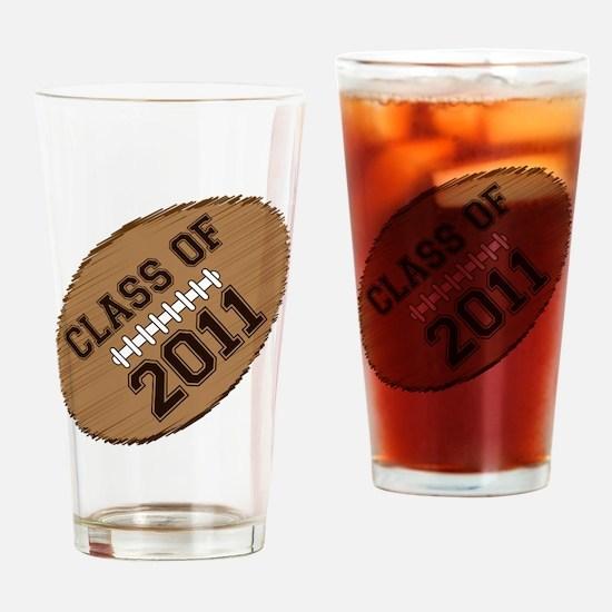 class of 2011 football Drinking Glass