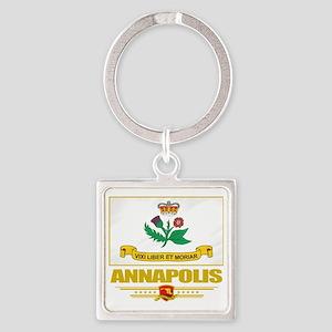 Annapolis (Flag 10) Square Keychain