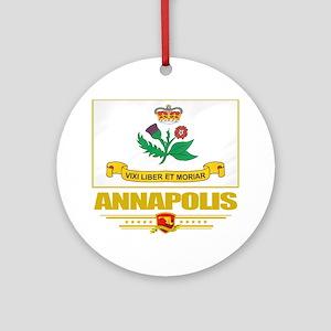 Annapolis (Flag 10) Round Ornament