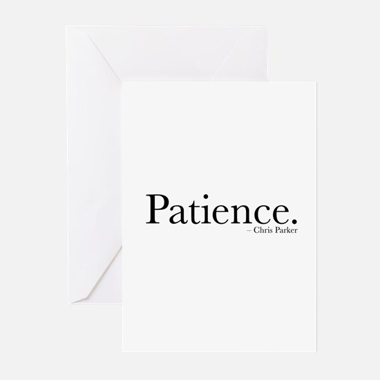 Patience Greeting Cards (pk Of 10)