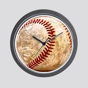 baseball_ball Wall Clock