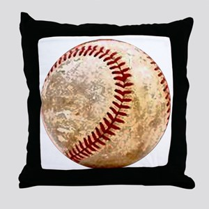 baseball_ball Throw Pillow