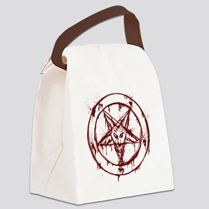 slayer pentagram Canvas Lunch Bag