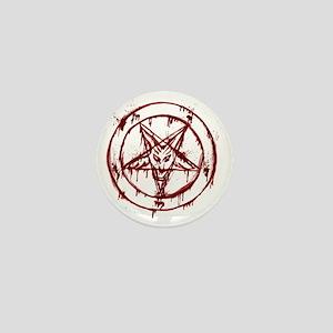 slayer pentagram Mini Button