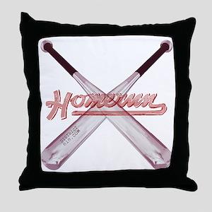 homerun Throw Pillow