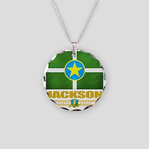 Jackson (Flag 10) Necklace Circle Charm