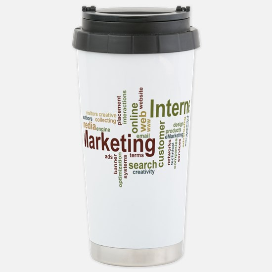 marketing mix Stainless Steel Travel Mug