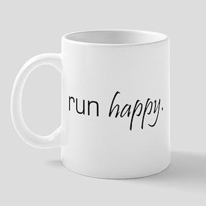 Run Happy Mug
