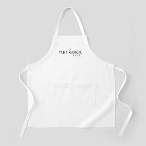 Run Happy BBQ Apron