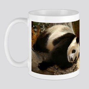 Tai Shan Resting on Log Mug