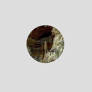 Montezumas Castle-10x10 Mini Button