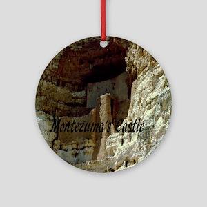 Montezumas Castle-10x10 Round Ornament