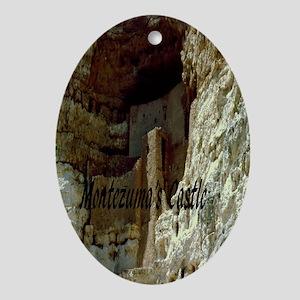Montezumas Castle-5.5x8.5 Oval Ornament