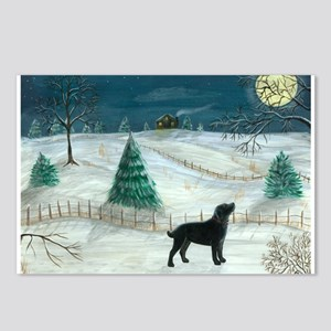 Winter Labrador Postcards (Package of 8)