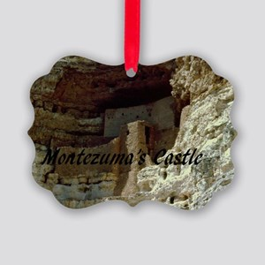 Montezumas Castle-35x23 Picture Ornament