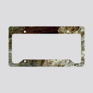 Montezumas Castle-35x23 License Plate Holder