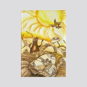 easter_sunbird Rectangle Magnet