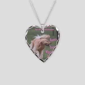 DanceCardMerge Necklace Heart Charm