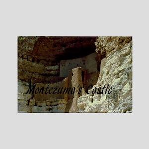 Montezumas Castle-12x9 Rectangle Magnet