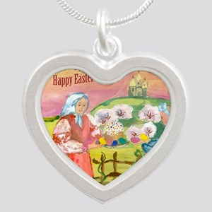 easter_cake_smaller Silver Heart Necklace