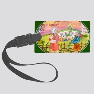 easter_cake_smaller Large Luggage Tag